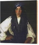La Mora 1912 Wood Print