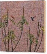 La Palapa Wood Print