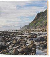 La Piedra Shore Malibu Dusk Wood Print
