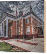 La Plata Town Hall Wood Print