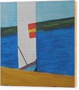 La Playa - The Beach. Wood Print