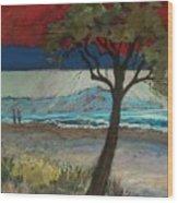 La Playa Wood Print