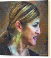 La Principessa Wood Print