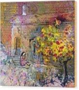 La Provence 13 Wood Print