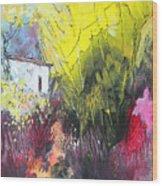 La Provence 18 Wood Print