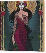 La Rosa Wood Print