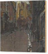 La Rue St Jacques Dieppe Wood Print