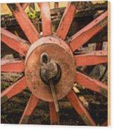 La Rueda 1 Wood Print