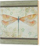 La Sauge Libellule-2 Wood Print