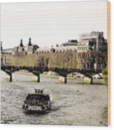 La Seine Wood Print