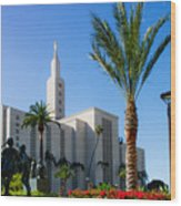 La Temple Children Wood Print
