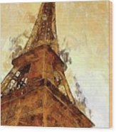 La Tour Eiffel Wood Print