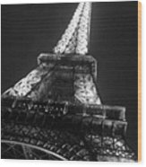 La Tour Eiffel Wood Print