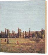 La Varenne De St. Hilaire Wood Print
