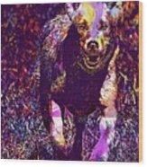 Labrador Puppy Retriever Dog Young  Wood Print