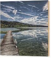 Lac Saint-point Wood Print
