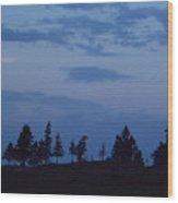 Lac-st-jean Way Wood Print