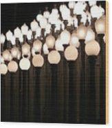Lacma Lights 3 Wood Print