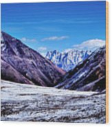 Ladakh, India, Landscape 2 Wood Print