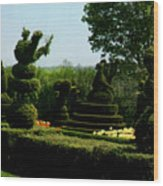 Ladew Topiary Gardens Wood Print