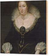 Lady Alethea Talbot, Countess Of Arundel Wood Print