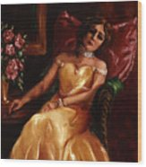 Lady Catherine Wood Print
