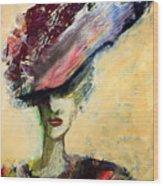 Lady Diana Wood Print