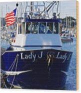Lady J Wood Print