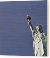 Lady Liberty 5 Wood Print