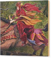 Lady Lunete Wood Print