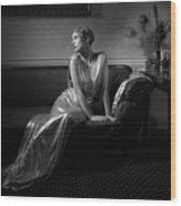 Lady Miguel Wood Print