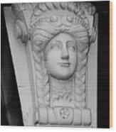 Lady Of The House Athlone Ireland Wood Print
