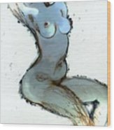 Lady Sophia - Female Nude Wood Print