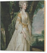 Lady Sunderlin Wood Print