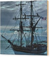 Lady Washington-3 Wood Print
