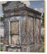 Lafayette Crypt 2 Wood Print