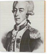 Lafayette Wood Print
