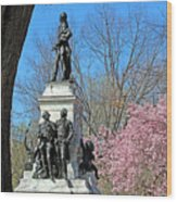 Lafayette Square Named For General Marquis Gilbert De Lafayette Wood Print