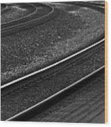 Lafayette Tracks Wood Print