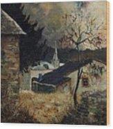 Laforet Ardennes Village  Wood Print