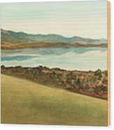 Lago Del Coghinas Wood Print