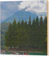 Lago Di Barcis Wood Print