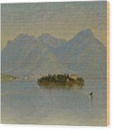 Lago Maggiore. Italy Wood Print