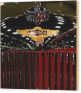 Lagonda Badge Wood Print