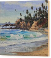 Laguna Beach  Wood Print by Gary Kim