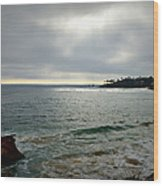 Laguna Beach Sunset Wood Print