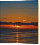 Laguna Beach Sunset Wood Print