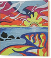 Laguna Wood Print
