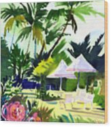 Lahaina Afternoon Wood Print