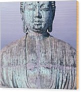 Lahaina Buddha At Jodo  Wood Print